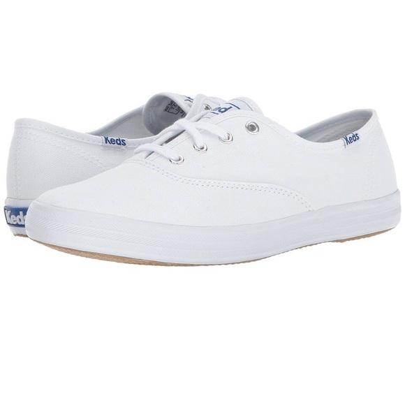 d1990950366e4 Keds Champion Oxford Canvas Lace-Up Sneakers Sz 8
